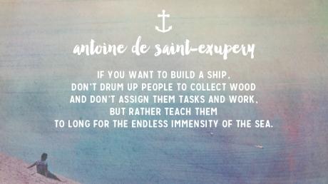 Sermon 4 - Saint Exupery